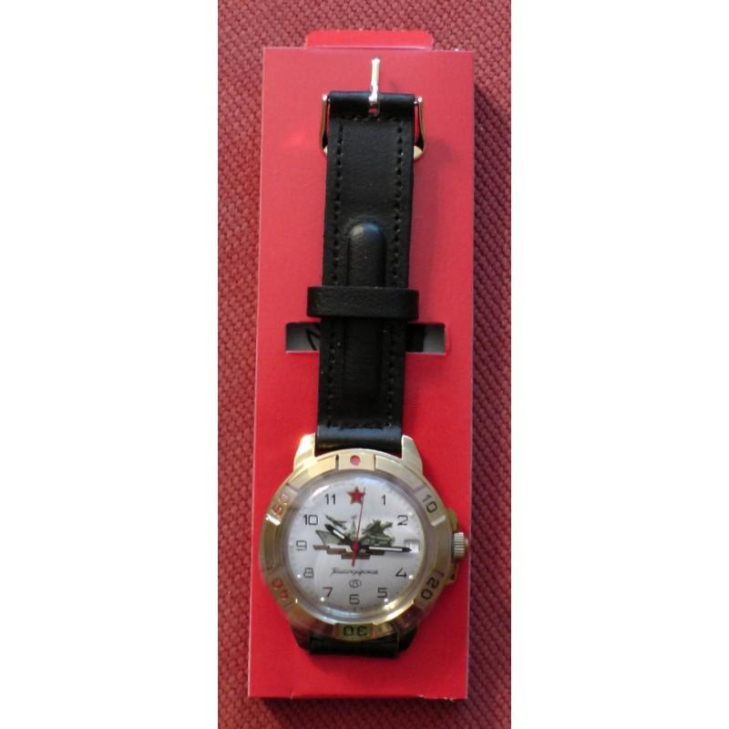 """439823/2414 российские военные механические наручные часы Восток """"Командирские"""" для мужчин  439823/2414"""