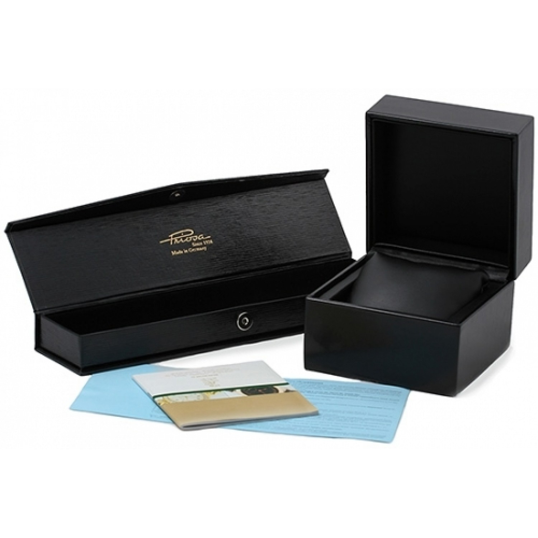 583C1/0000/01-16,00  золотые мужские кварцевые наручные часы Priosa  583C1/0000/01-16,00
