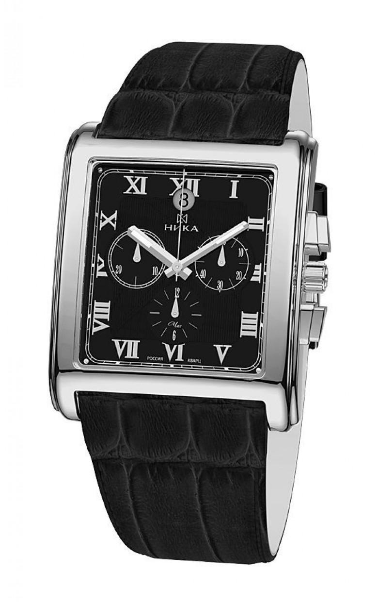 1064.0.9.51Н российские серебряные кварцевые наручные часы Ника