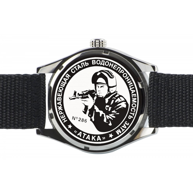 С2864348-2115-09 российские мужские кварцевые наручные часы Спецназ