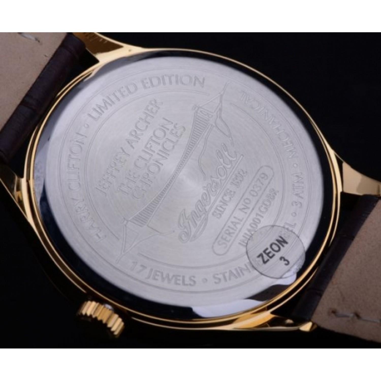 INJA001GDBR  мужские механические наручные часы Ingersoll