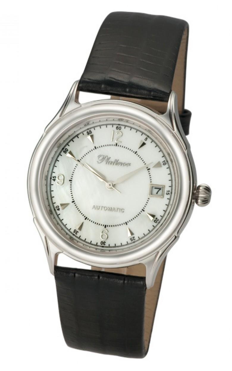 50400.206 российские серебрянные механические наручные часы Platinor
