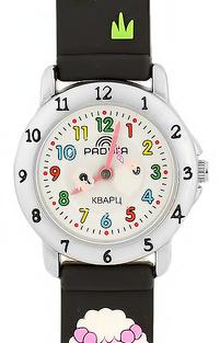 105 черные овечки  российские детские кварцевые часы Радуга  105 черные овечки