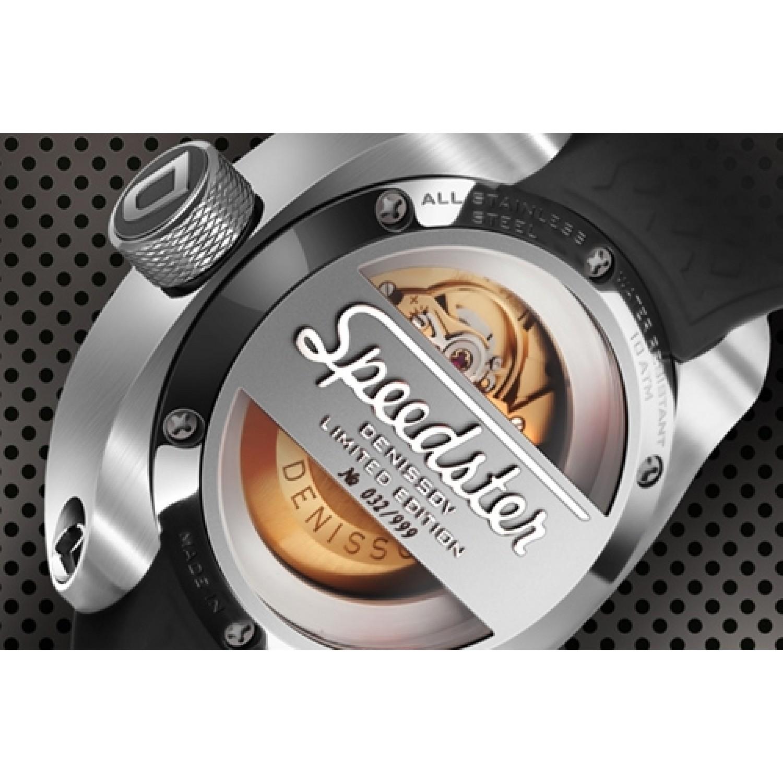 """2824.1029.1.S11 российские механические наручные часы Денисов """"Speedster"""" для мужчин  2824.1029.1.S11"""