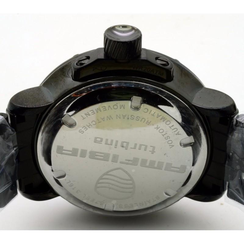 """236429 TURBINA российские водонепроницаемые механические наручные часы Восток """"Командирские"""" для мужчин  236429 TURBINA"""