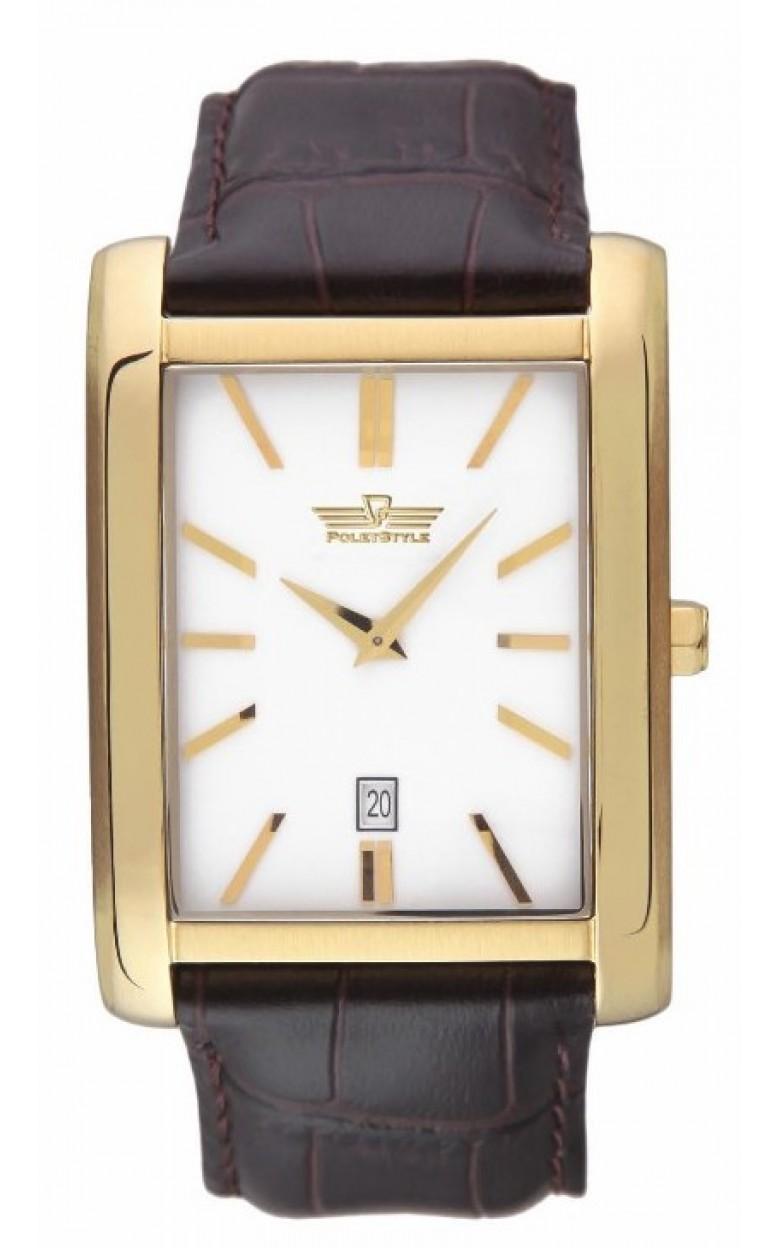 3000/1296 российские кварцевые наручные часы Полёт-Стиль для мужчин  3000/1296