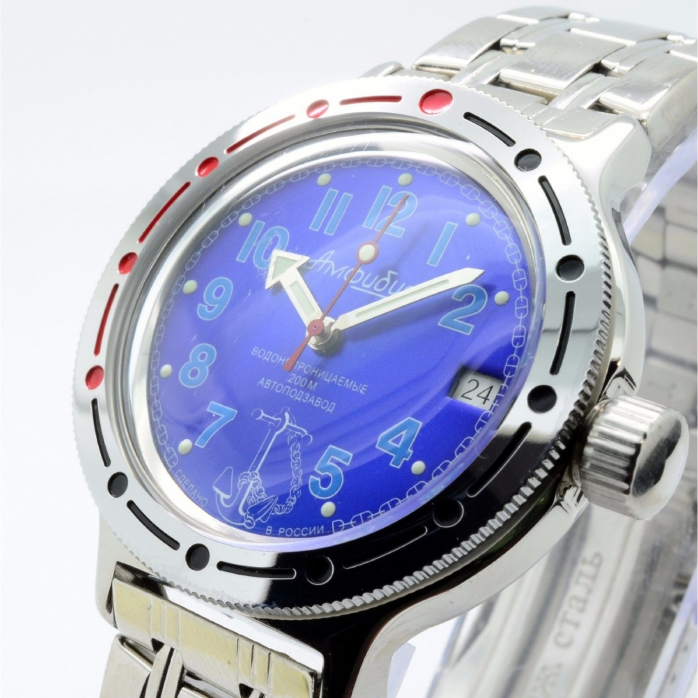 420382 российские водонепроницаемые военные мужские механические часы Восток