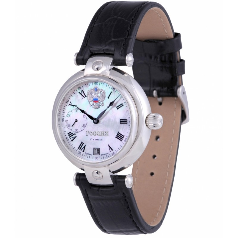 3105/2221401П  механические наручные часы Премиум-Стиль логотип Герб РФ  3105/2221401П