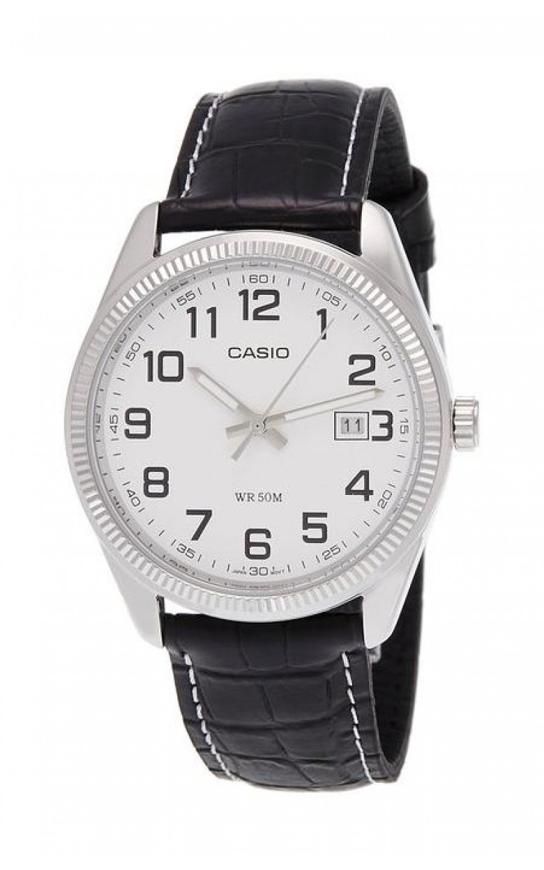 MTP-1302L-7B японские кварцевые наручные часы Casio для мужчин