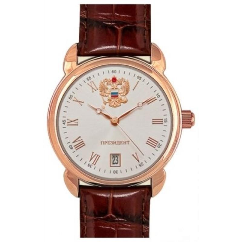 4079682 российские мужские кварцевые часы Президент