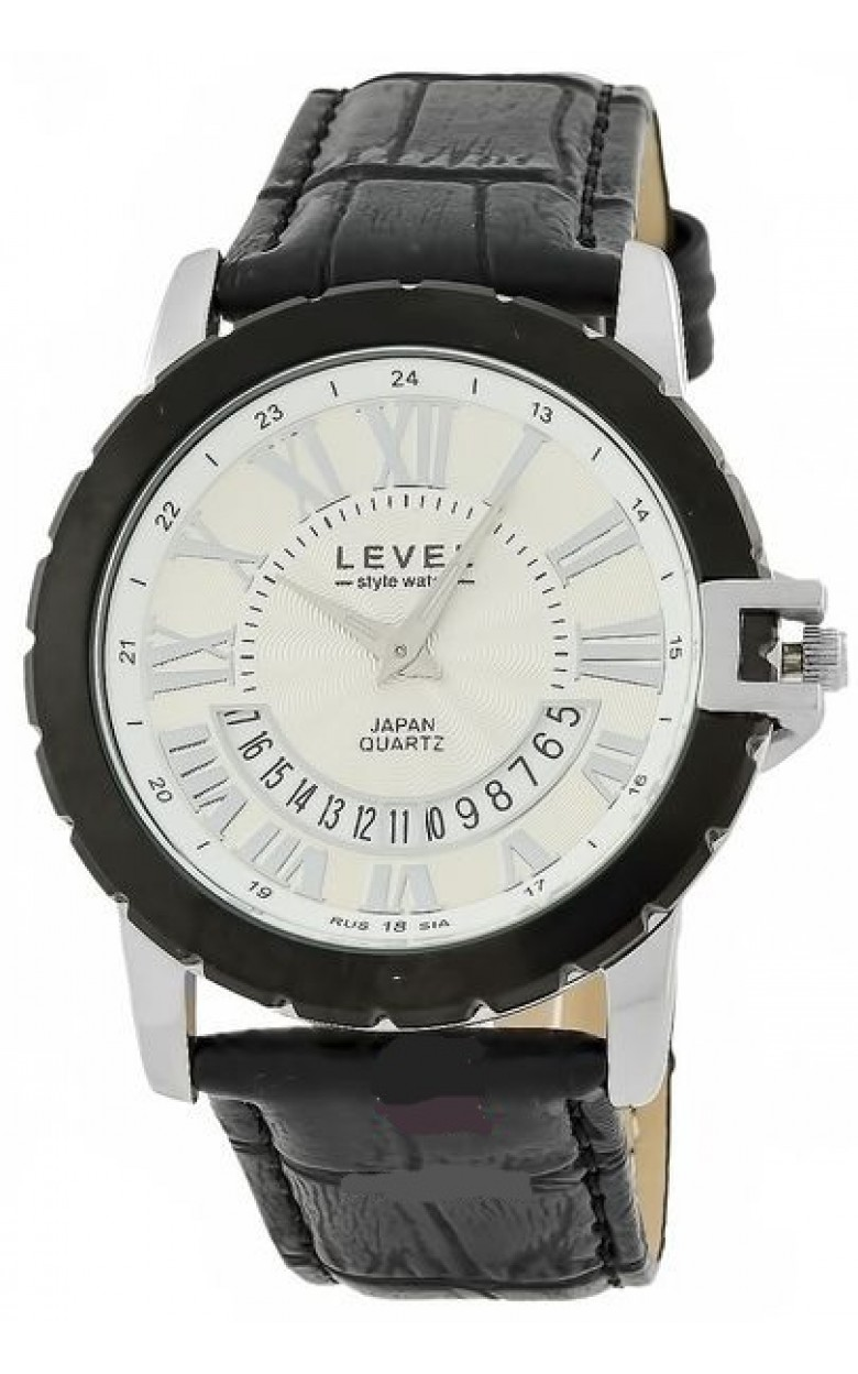 VX3K/3124116 российские мужские кварцевые часы Level  VX3K/3124116