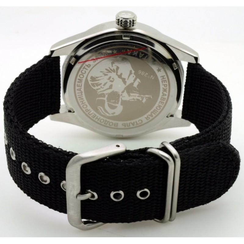 С2861344-2115-09 российские военные кварцевые наручные часы Спецназ С2861344-2115-09