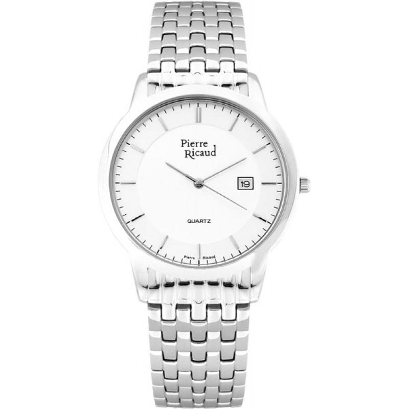 P91059.5113Q  мужские кварцевые часы Pierre Ricaud