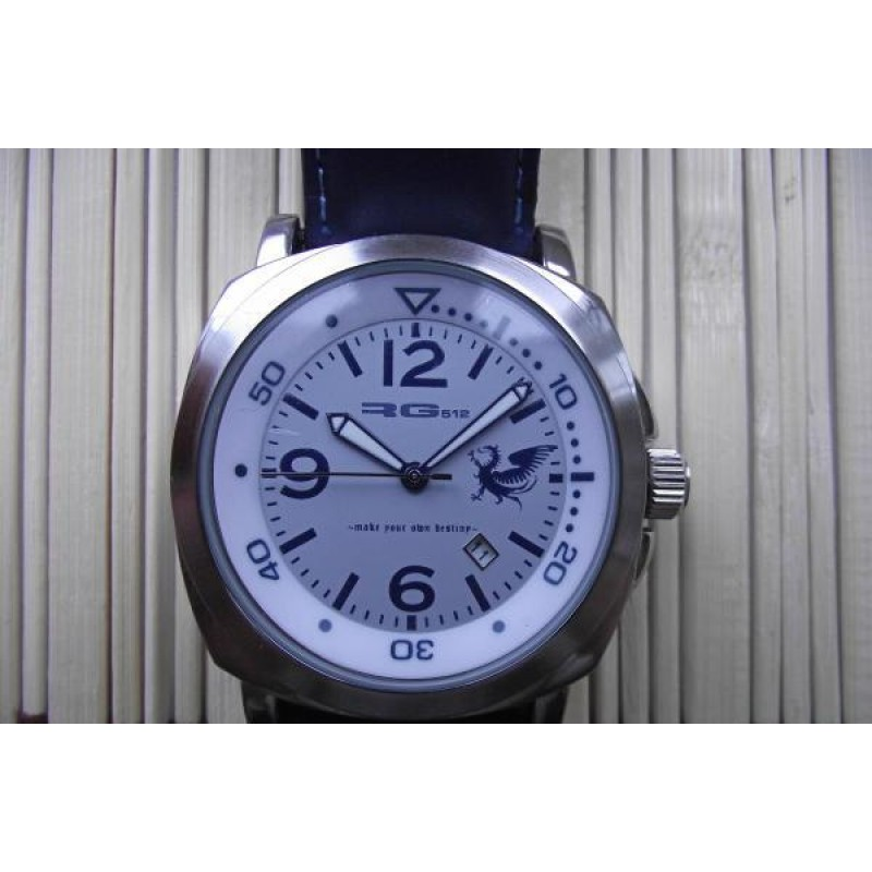 """G50861-208  мужские кварцевые часы RG512 """"Leather Line""""  G50861-208"""