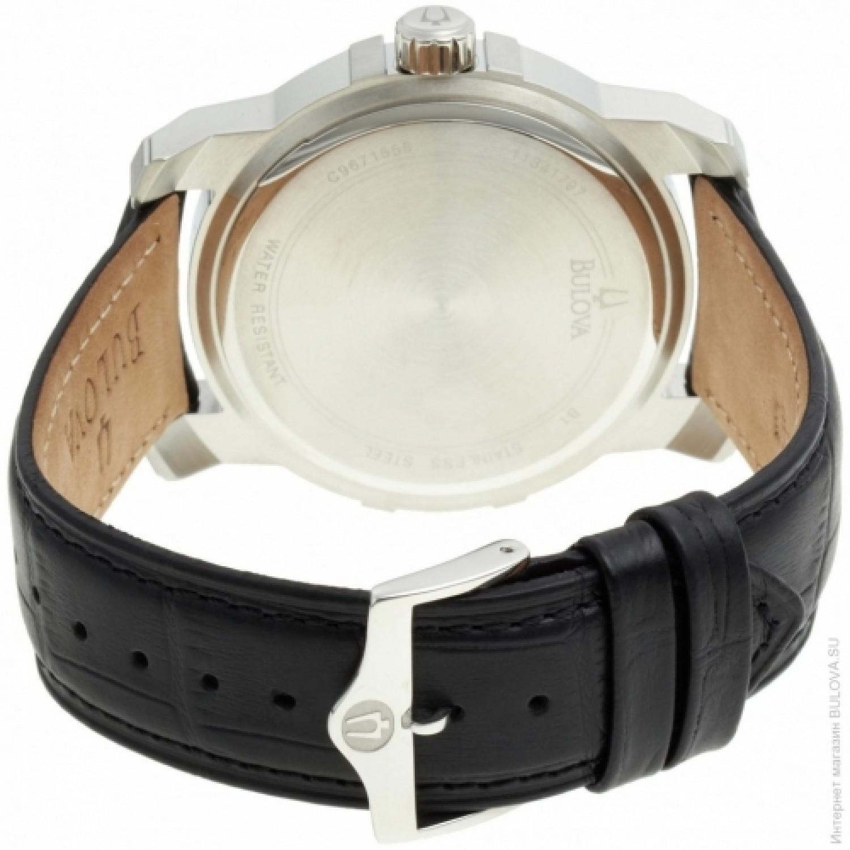 98D117 BU0181 швейцарские мужские кварцевые наручные часы Bulova  98D117 BU0181