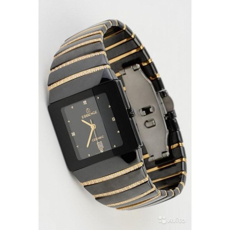 """51016-1044MQ  мужские кварцевые наручные часы Essence """"Ceramic man"""" с сапфировым стеклом 51016-1044MQ"""