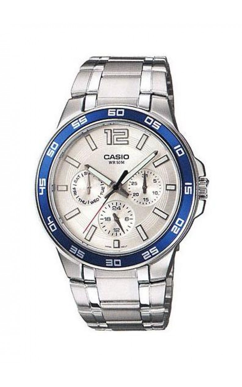 MTP-1300D-7A2 японские кварцевые наручные часы Casio для мужчин  MTP-1300D-7A2