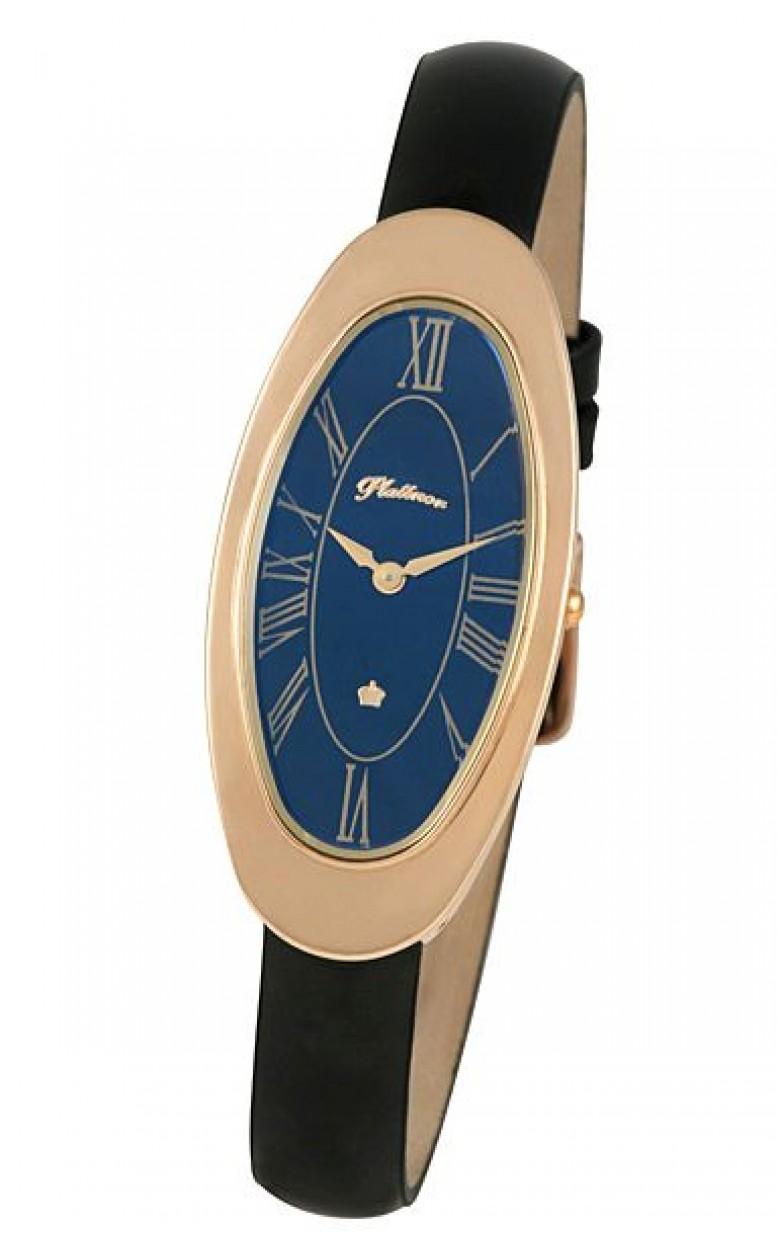 92850.115 российские золотые кварцевые наручные часы Platinor