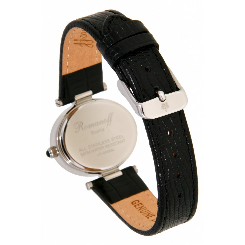 10459G1BL российские кварцевые наручные часы Romanoff