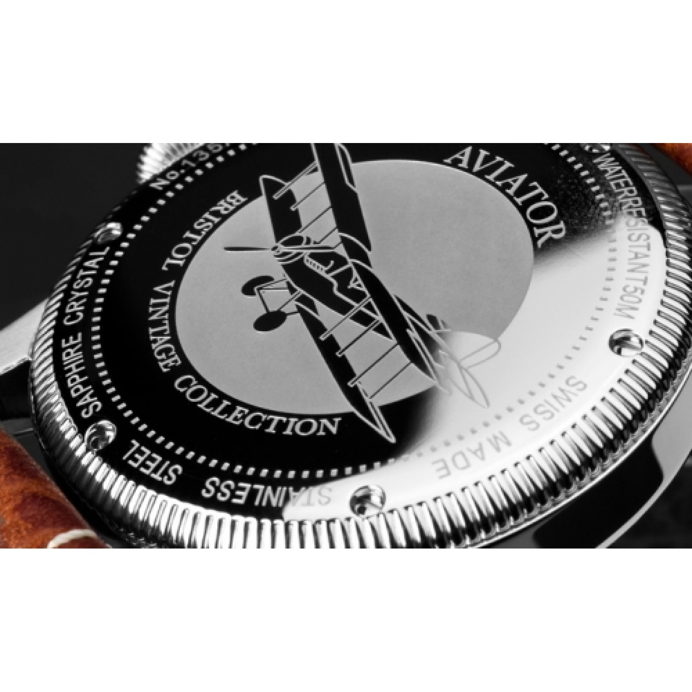 """V.3.07.0.081.4 российские мужские механические наручные часы Aviator """"Bristol""""  V.3.07.0.081.4"""