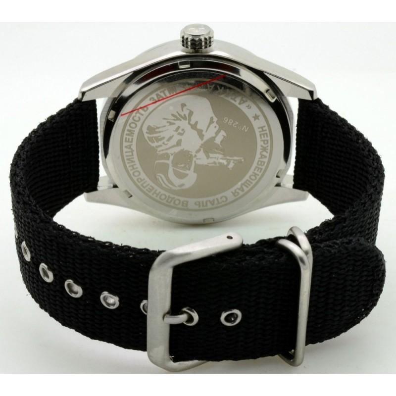 С2861339-2115-09 российские военные кварцевые наручные часы Спецназ С2861339-2115-09