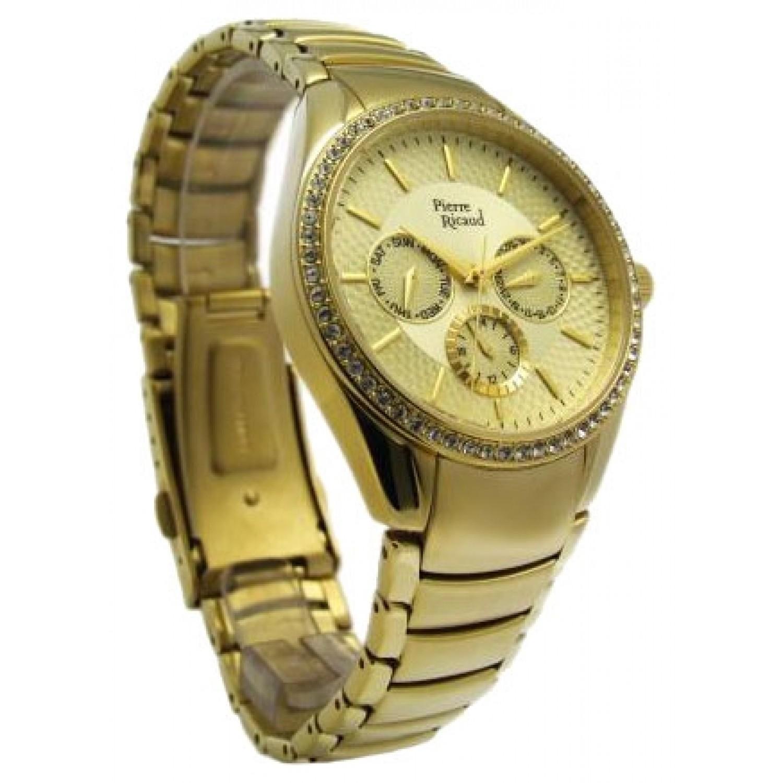P21032.1111QFZ  кварцевые наручные часы Pierre Ricaud  P21032.1111QFZ