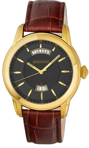 VJ55B/2246309 российские мужские кварцевые часы Sekonda  VJ55B/2246309