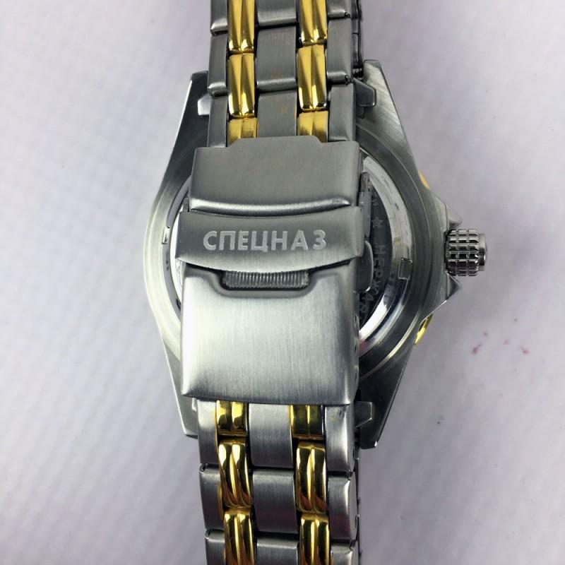 С8211174-1612 российские механические наручные часы Спецназ для мужчин  С8211174-1612