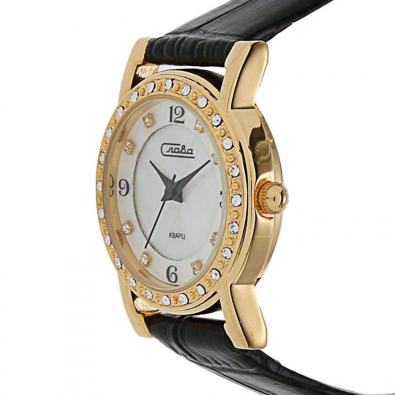 """6173162/2035 российские кварцевые наручные часы Слава """"Инстинкт"""" для женщин  6173162/2035"""