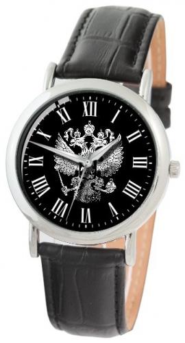 "1041599/2035  кварцевые часы Слава ""Патриот"" логотип Герб РФ  1041599/2035"
