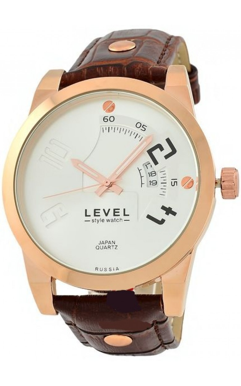 VX32/3145100 российские мужские кварцевые наручные часы Level  VX32/3145100