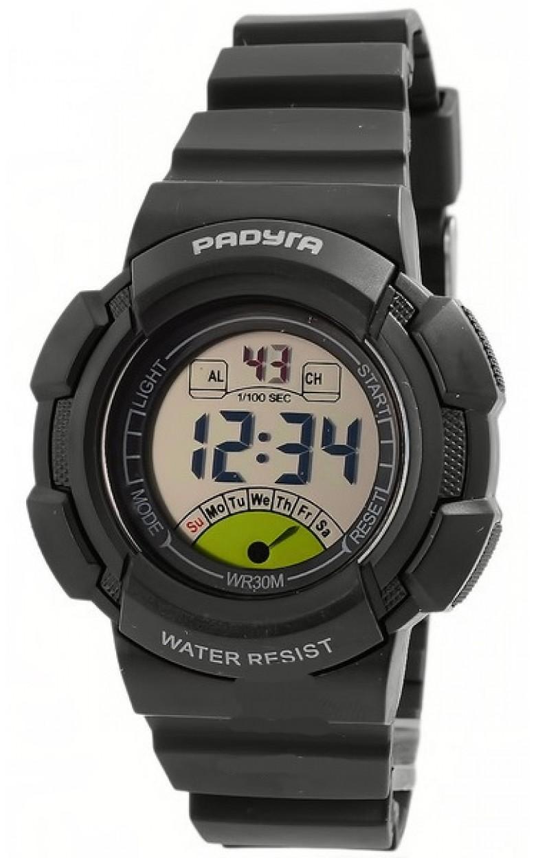 452 черные российские кварцевые наручные часы Радуга для детей  452 черные