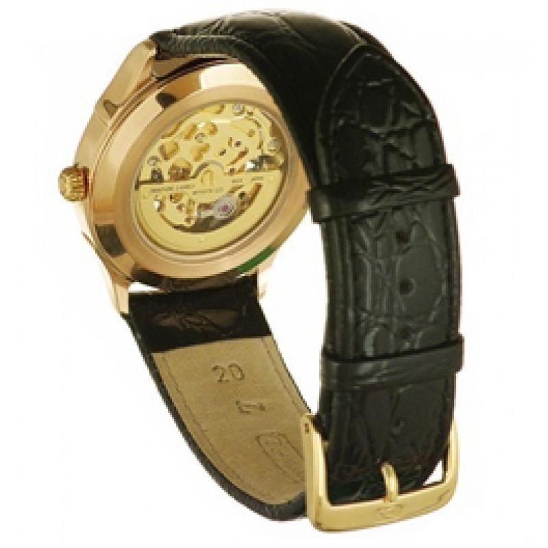 """41950 Часы мужские наручные механика автоподзавод """"Чайка"""" Скелетон""""  зол. 585*  41950"""