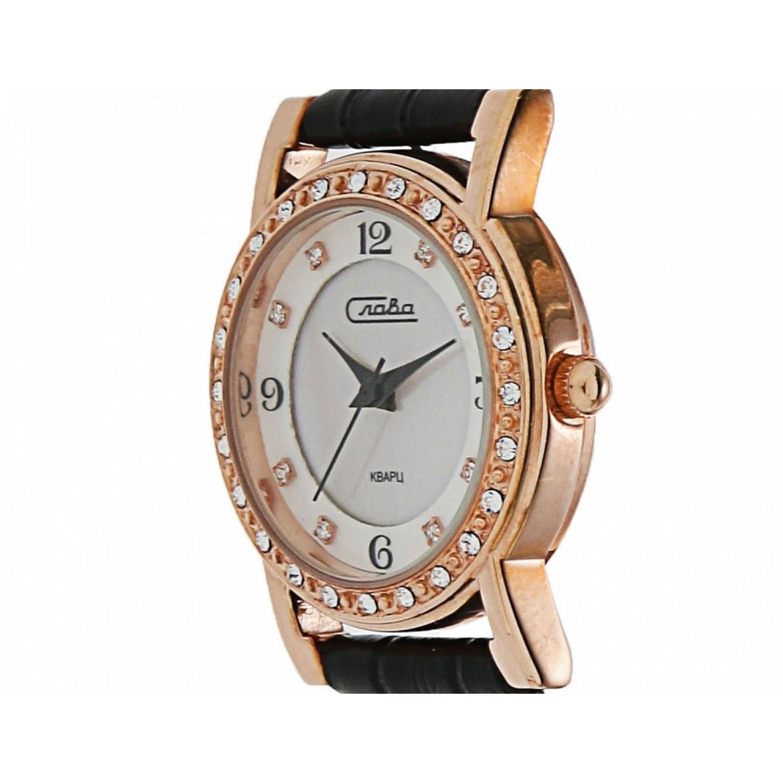 """6179375/2025 российские кварцевые наручные часы Слава """"Инстинкт"""" для женщин  6179375/2025"""