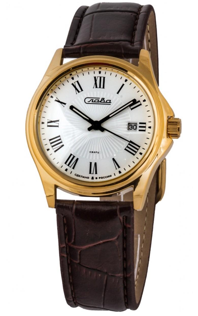 1259380/2115-300 российские универсальные кварцевые наручные часы Слава