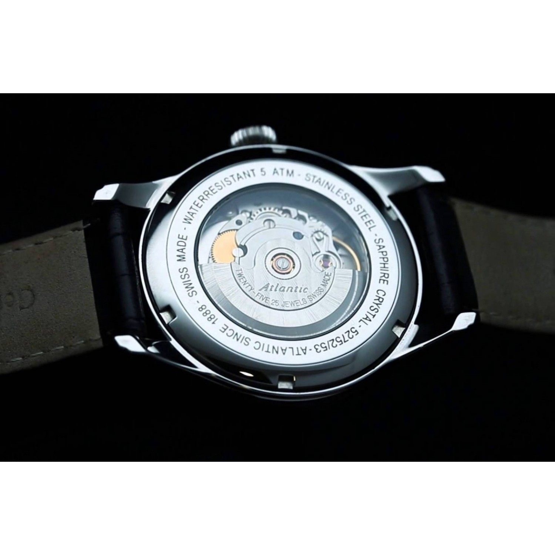 52753.41.25R Часы наручные  ATLANTIC