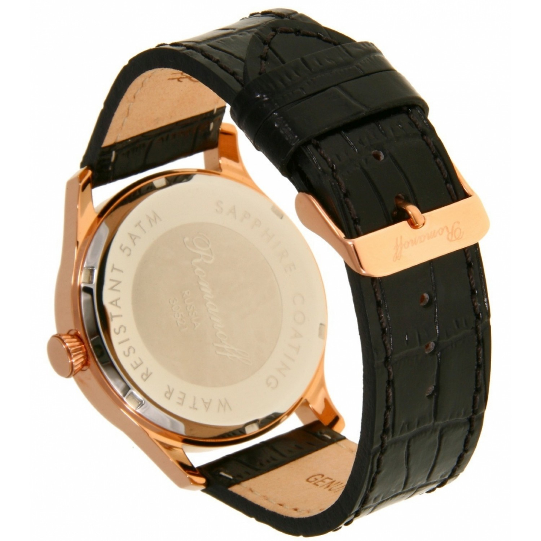 """30521B3BL российские мужские кварцевые наручные часы Romanoff """"Классика""""  30521B3BL"""