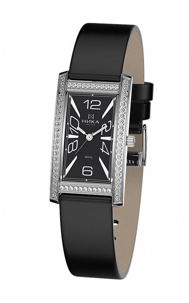 0551.2.9.52Н-9,32 российские серебрянные кварцевые наручные часы Ника