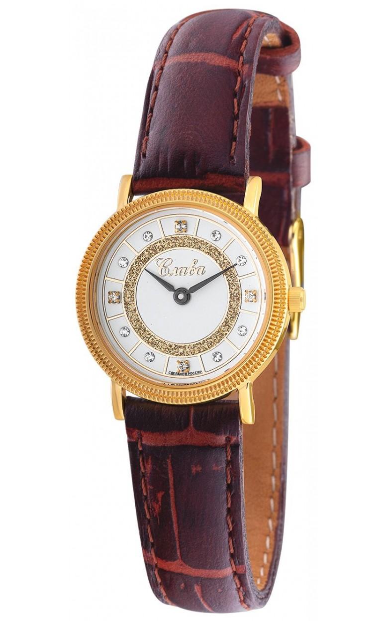"1029191/300-1L22  кварцевые часы Слава ""Традиция"" логотип Слава  1029191/300-1L22"