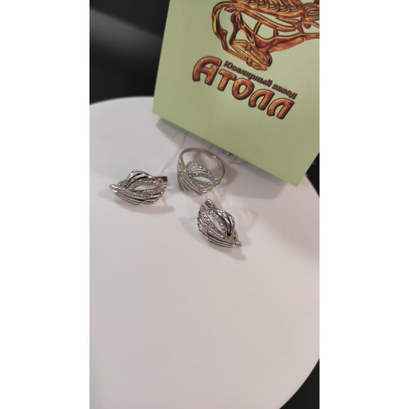 20322 серебряные серьги 925*