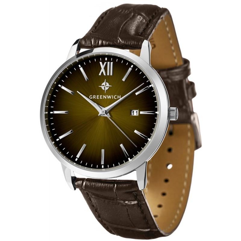 GW 021.12.10  кварцевые часы Greenwich  GW 021.12.10