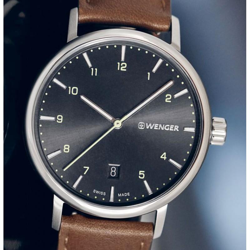 01.1731.115  кварцевые часы Wenger  01.1731.115