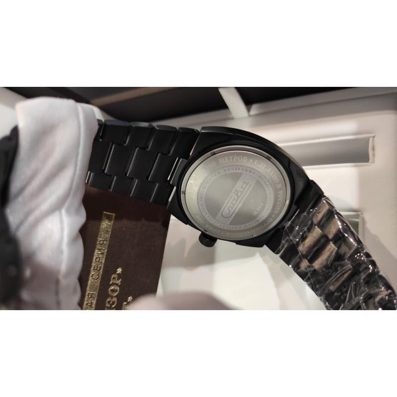 """0224299/100-2427  механические с автоподзаводом наручные часы Слава """"Телевизор Титан""""  0224299/100-2427"""