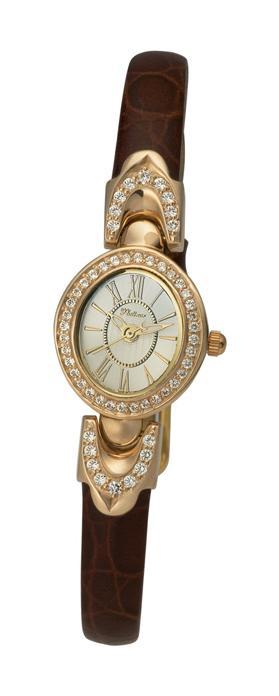 """200456.220  кварцевые наручные часы Platinor """"Марго""""  200456.220"""