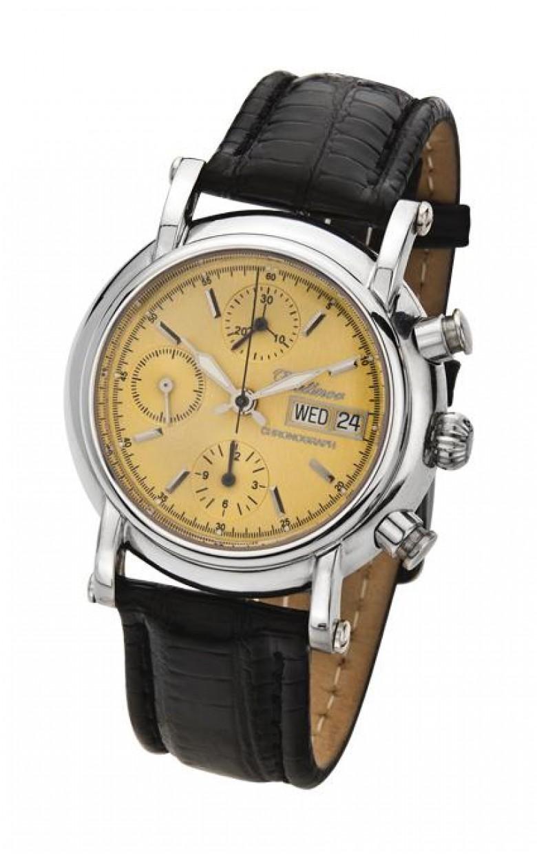 """57100.403  механические с автоподзаводом наручные часы Platinor """"Адмирал""""  57100.403"""