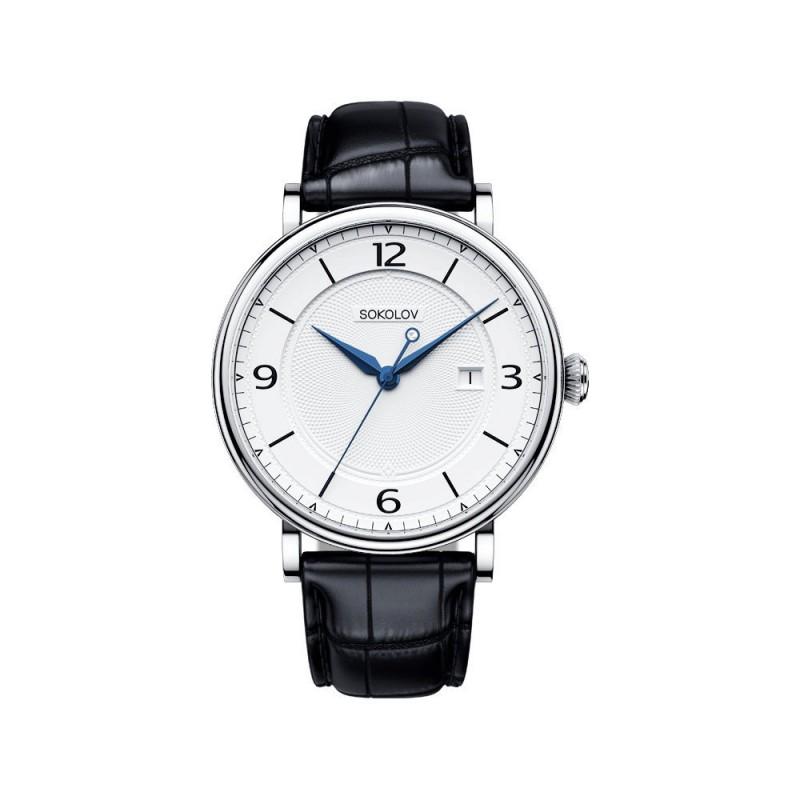 """101.30.00.000.03.01.3  кварцевые наручные часы Sokolov """"Pulse""""  101.30.00.000.03.01.3"""