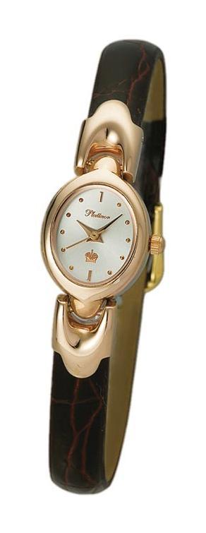 """200450.201  кварцевые наручные часы Platinor """"Марго""""  200450.201"""
