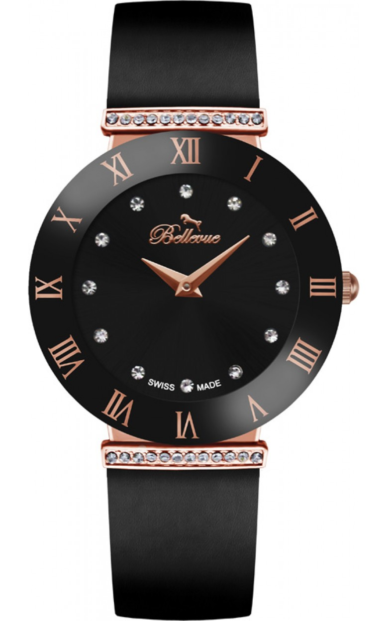 """E.101  кварцевые наручные часы BELLEVUE """"New"""" для женщин  E.101"""