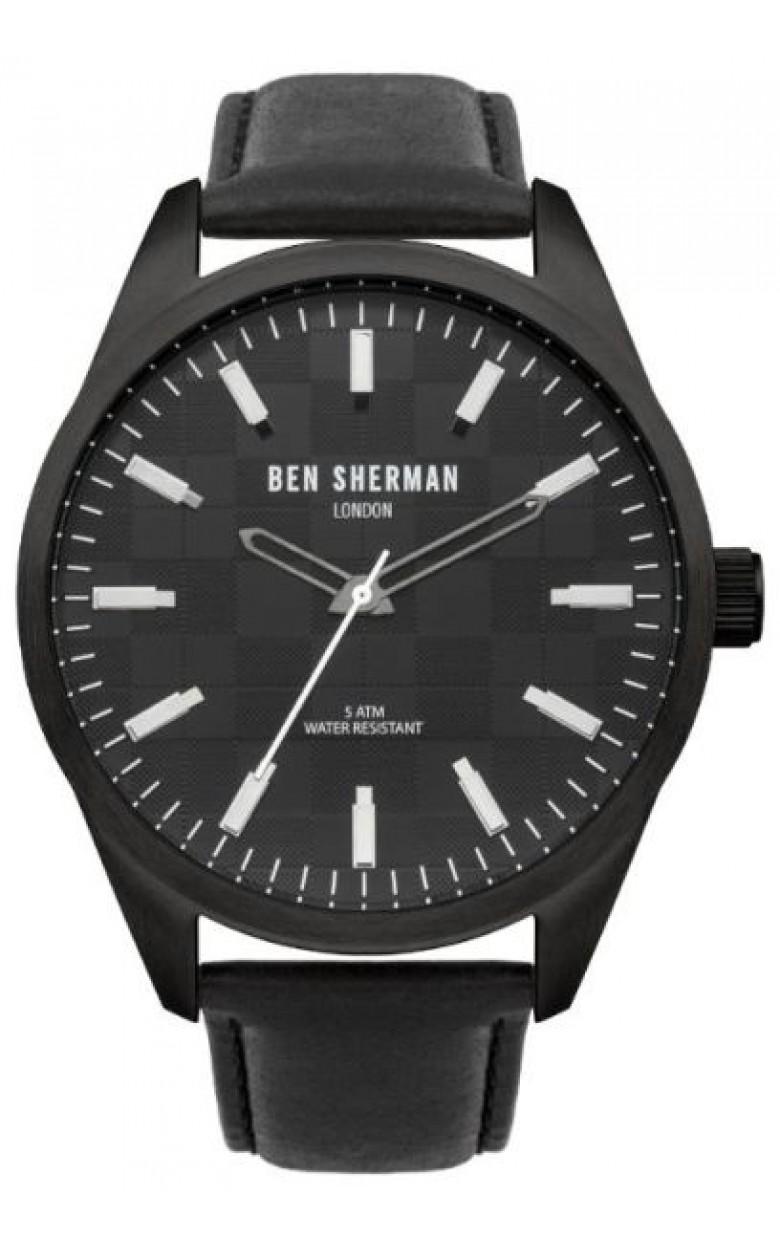 "WB007B  кварцевые наручные часы Ben Sherman ""Big Carnaby"" для мужчин  WB007B"