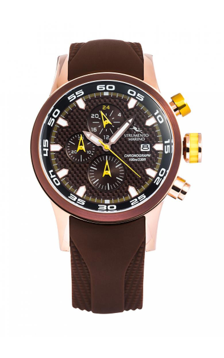 """SM126S/RG/MR/MR  мужские кварцевые наручные часы STRUMENTO MARINO """"SPEEDBOAT""""  SM126S/RG/MR/MR"""